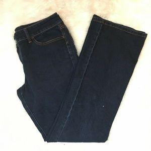 Banana Republic Women's Dark Wash Denim Blue Jeans